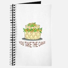 YOU TAKE THE CAKE Journal