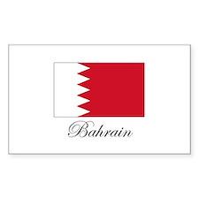 Bahrain - Flag Rectangle Decal