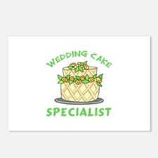 WEDDING CAKE SPECIALIST Postcards (Package of 8)