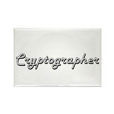 Cryptographer Classic Job Design Magnets