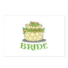 BRIDES WEDDING CAKE Postcards (Package of 8)