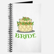 BRIDES WEDDING CAKE Journal