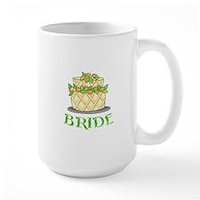 BRIDES WEDDING CAKE Mugs