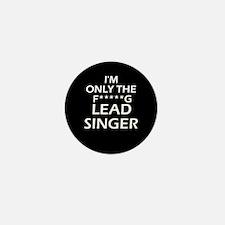 Lead Singer Mini Button
