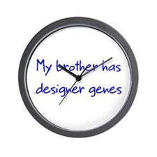 Designer Genes Brother Wall Clock