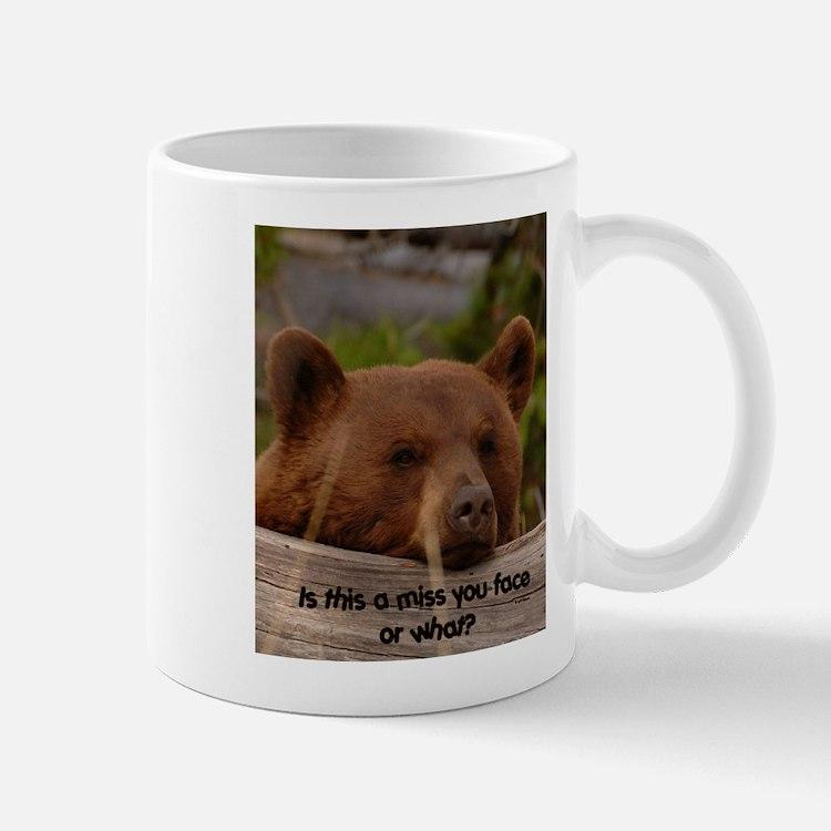 Miss You Face  Mug