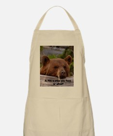 Miss You Face  BBQ Apron