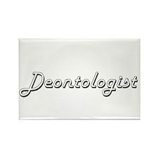 Deontologist Classic Job Design Magnets