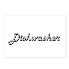 Dishwasher Classic Job De Postcards (Package of 8)