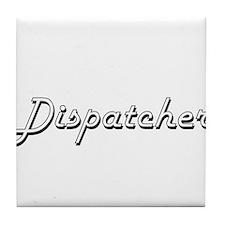 Dispatcher Classic Job Design Tile Coaster