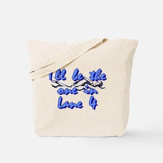 Lane 4 Tote Bag