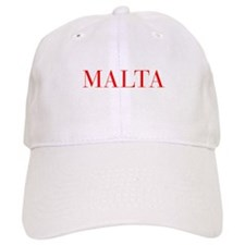 Malta-Bau red 400 Baseball Baseball Baseball Cap