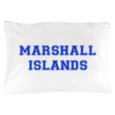 Marshall Islands-Var blue 400 Pillow Case