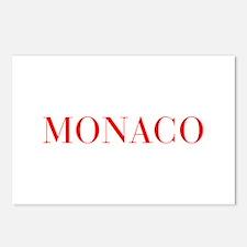 Monaco-Bau red 400 Postcards (Package of 8)