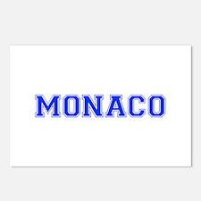 Monaco-Var blue 400 Postcards (Package of 8)
