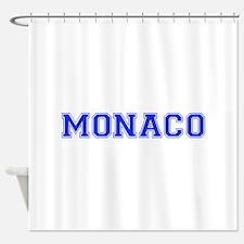 Monaco-Var blue 400 Shower Curtain