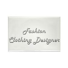 Fashion Clothing Designer Classic Job Desi Magnets