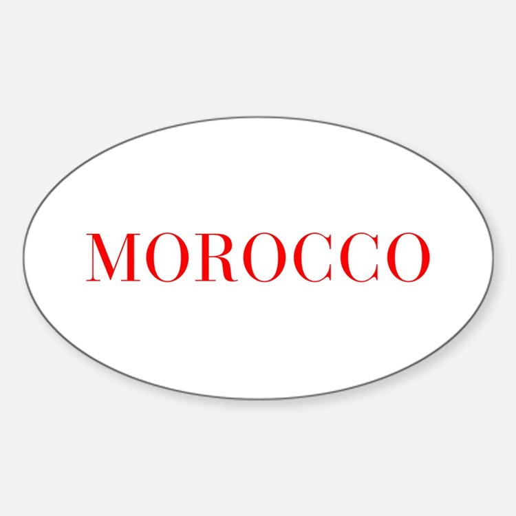 Morocco-Bau red 400 Decal