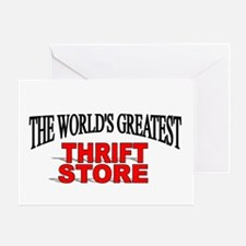 """The World's Greatest Thrift Store"" Greeting Card"