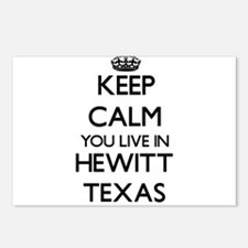 Keep calm you live in Hew Postcards (Package of 8)