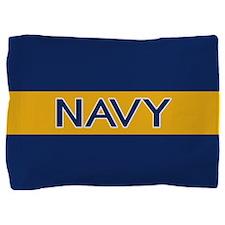 U.S. Navy: Navy (Gold Stripe) Pillow Sham