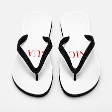 Nicaragua-Bau red 400 Flip Flops