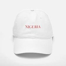 Nigeria-Bau red 400 Baseball Baseball Baseball Cap