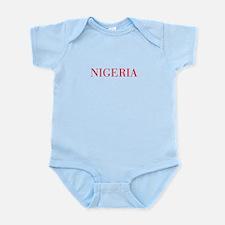Nigeria-Bau red 400 Body Suit