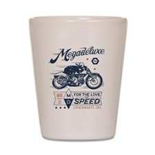 Bike Love of Speed Shot Glass