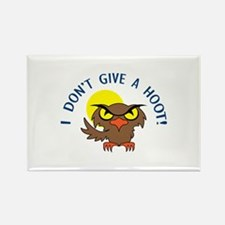 I DONT GIVE A HOOT Magnets