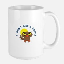 I DONT GIVE A HOOT Mugs