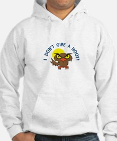 I DONT GIVE A HOOT Hoodie