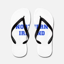Northern Ireland-Var blue 400 Flip Flops