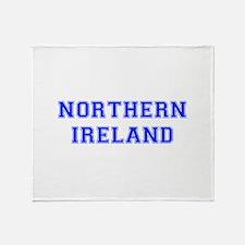 Northern Ireland-Var blue 400 Throw Blanket