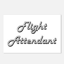 Flight Attendant Classic Postcards (Package of 8)