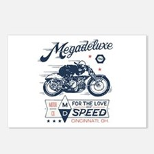 Bike Love of Speed Postcards (Package of 8)