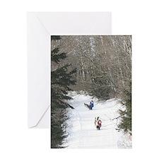 MCK Racing Siberians Greeting Card