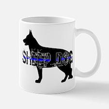 Law Enforcement Sheep Dog Mug