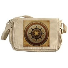 Traditional Geometric & Floral Patte Messenger Bag