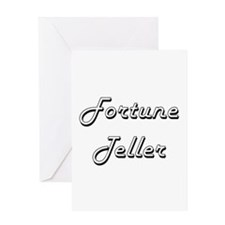 Fortune Teller Classic Job Design Greeting Cards