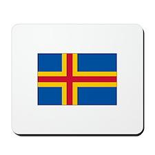 Aaland Flag Mousepad