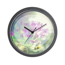 Funny Affirmation Wall Clock