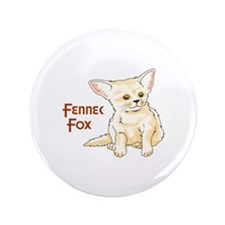 "FENNEC FOX 3.5"" Button"