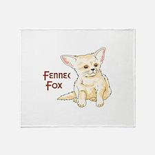 FENNEC FOX Throw Blanket