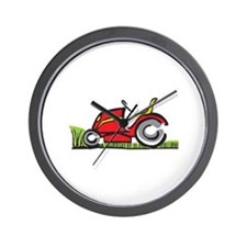RIDING LAWNMOWER Wall Clock