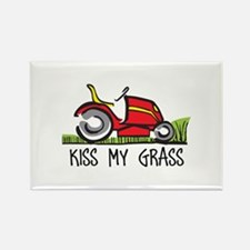 KISS MY GRASS Magnets