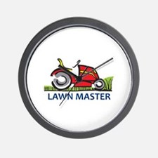 LAWN MASTER Wall Clock