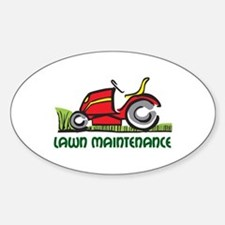 LAWN MAINTENANCE Decal