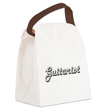 Guitarist Classic Job Design Canvas Lunch Bag