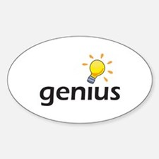LIGHTBULB GENIUS Decal